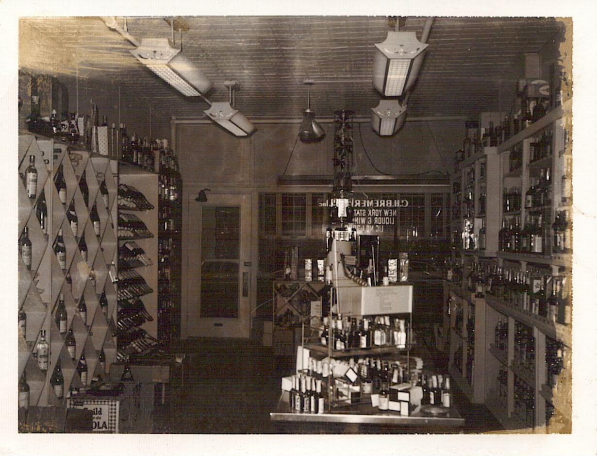 Bremer's second store location, Lafayette Street, Utica - circa 1962