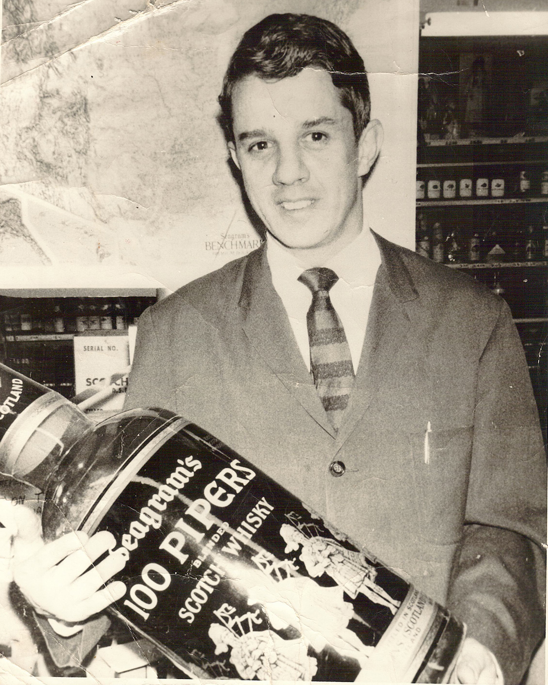 Bud Bremer in the early 1960s, when he first began working in the family store