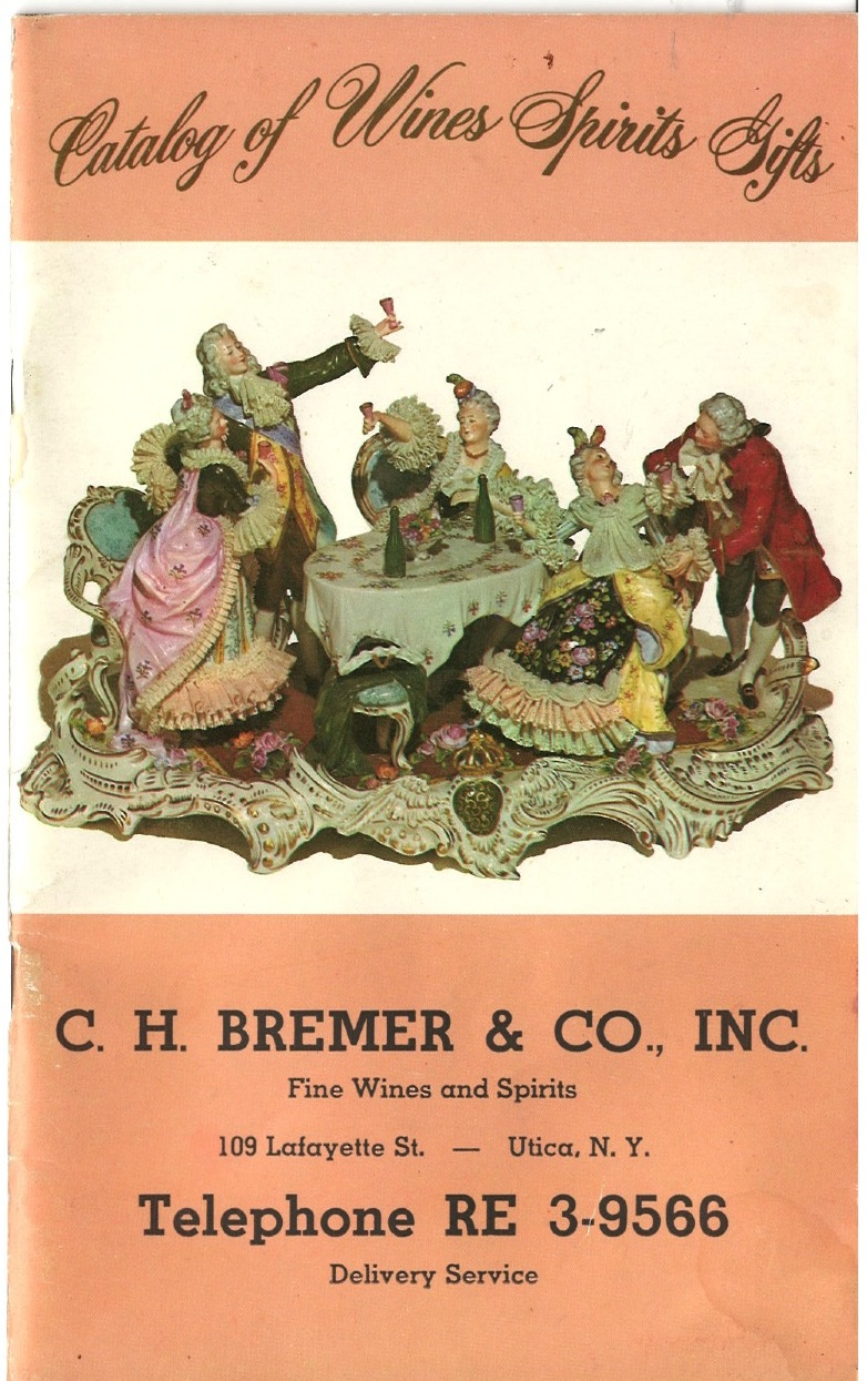 Vintage C.H. Bremer store catalog cover from 1962