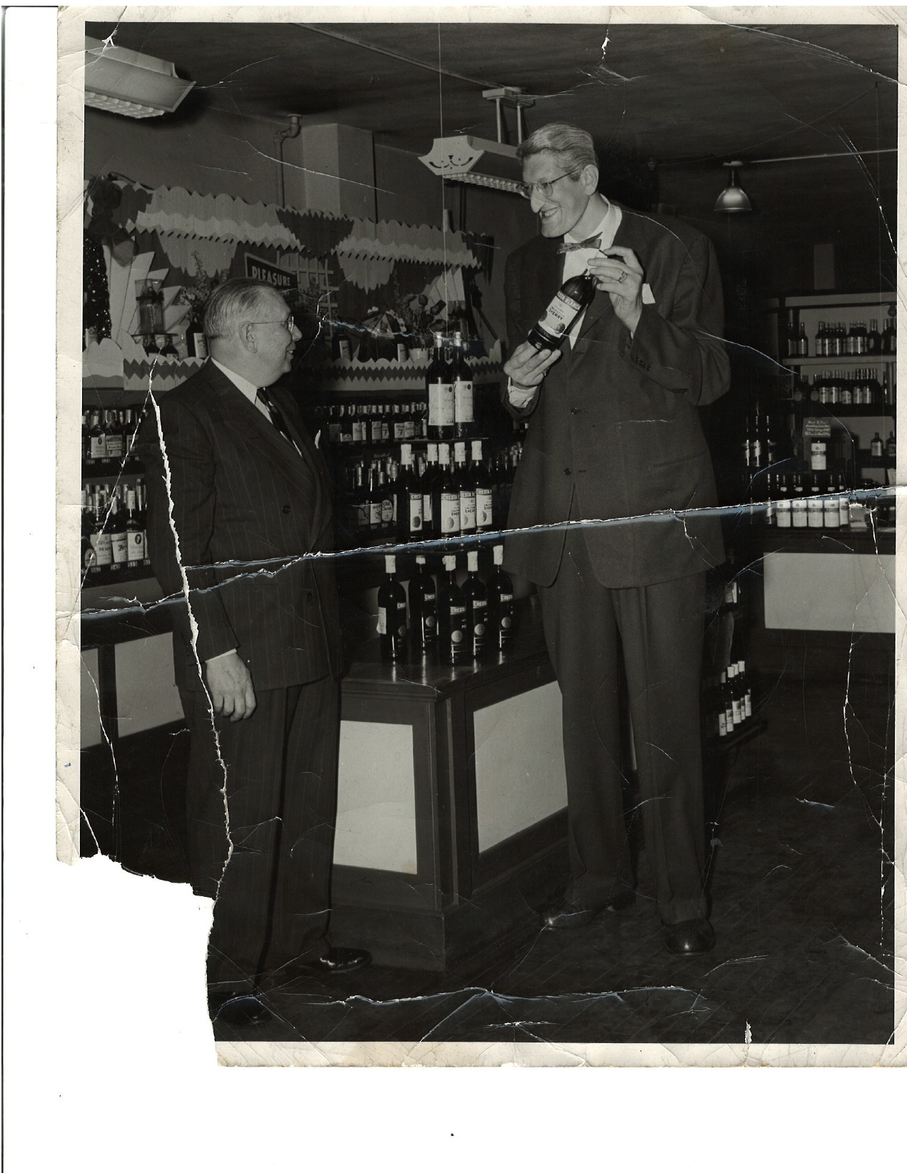 Bremer's had a visit from the Tallest Man in the World, back in the 50's at the Seneca Street location