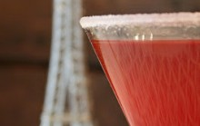 French Kiss Martini