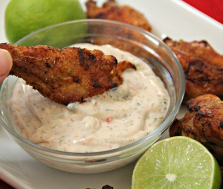Tequila Lime Chicken Wings Directions