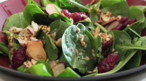 spinach-cranberry-salad
