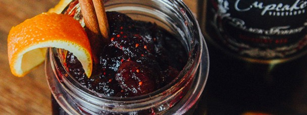 Red Wine Cranberry Relish