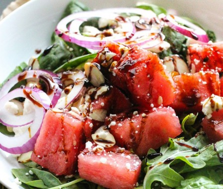 balsamic-watermelon-feta-salad-recipe