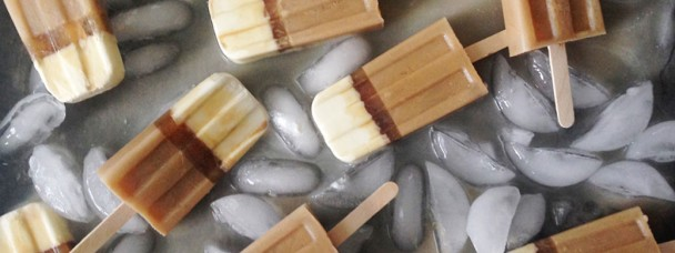 Irish Coffee Popsicles