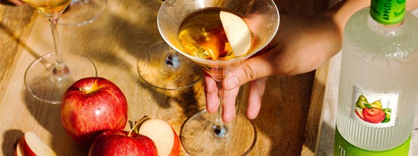 Apples & Pears Martini