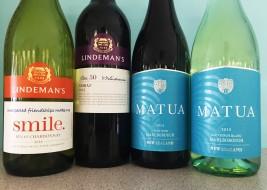 LINDEMAN'S + MATUA WINES