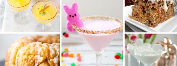 CAKES AND COCKTAILS PERFECT FOR EASTER