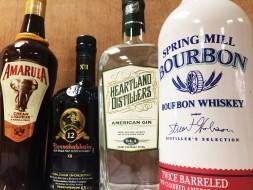 SCOTCH, BOURBON & GIN