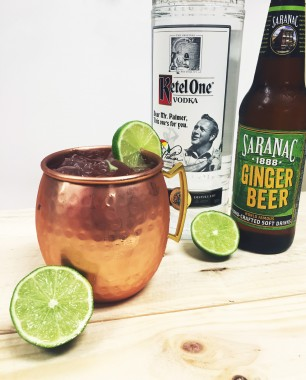 moscow mule ketel one saranac bemer's