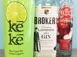 VODKA, GIN AND LIQUEUR