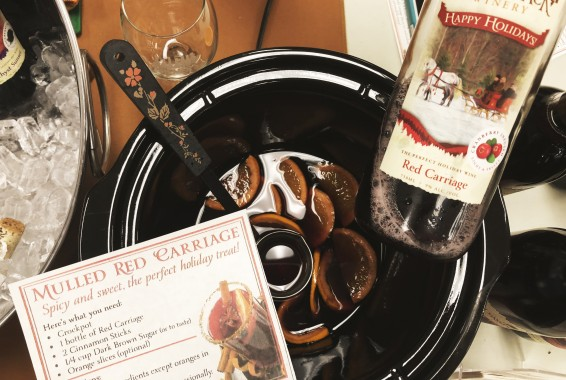 adirondack winery mulled red carriage