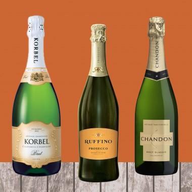 thanksgiving pairings bubbly