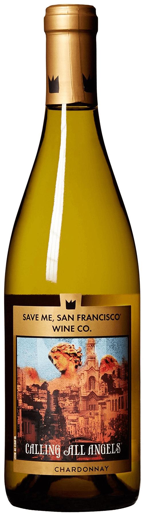 Save Me San Francisco Calling All Angels Chardonnay 2014
