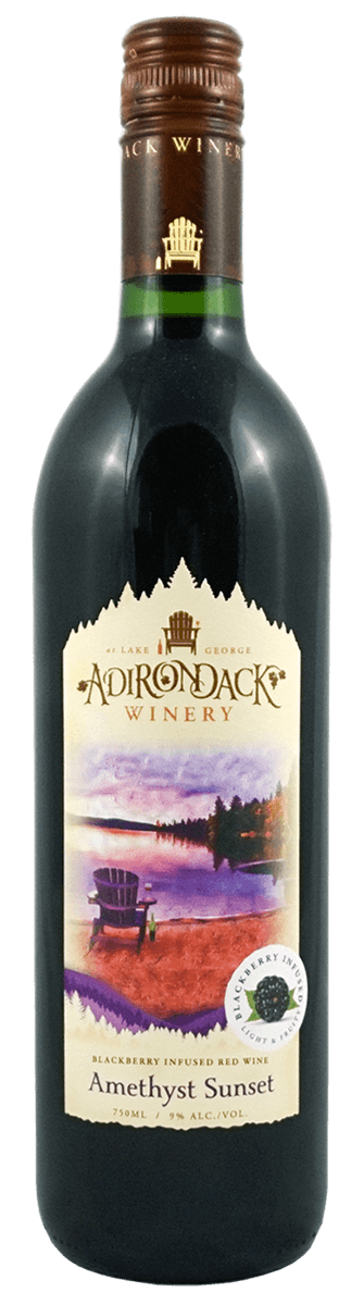 Adirondack Winery Amethyst Sunset