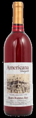 Americana Vineyards Barn Raising Red