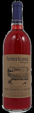 Americana Vineyards November Harvest