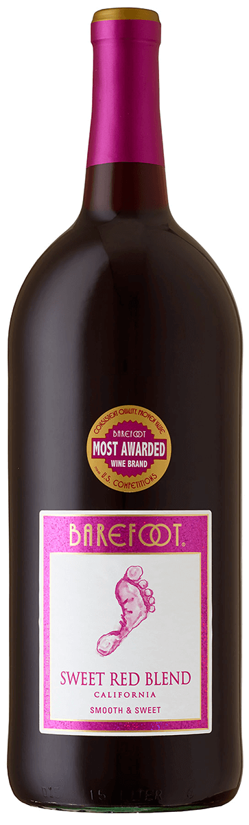 Barefoot Sweet Red Blend - 1 5 L