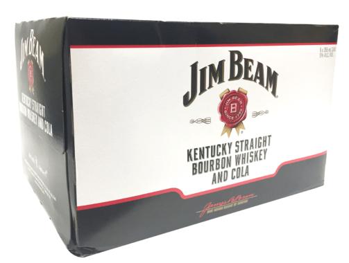 Jim Beam Beam and Cola Cocktail - 6 Pack