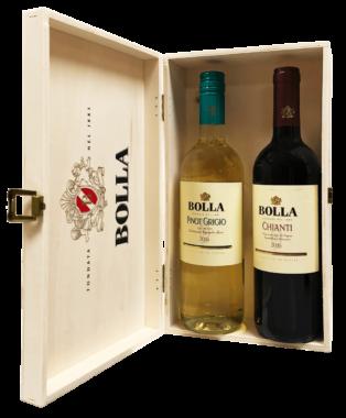 Bolla Gift Set: Chianti and Pinot Grigio