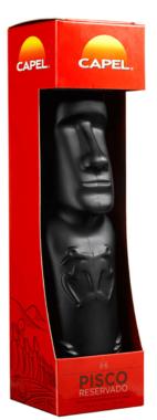 Capel Pisco | Moai Bottle