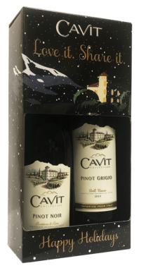 Cavit Gift Set: Pinot Grigio and Pinot Noir