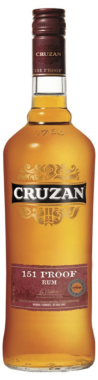Cruzan 151 Proof