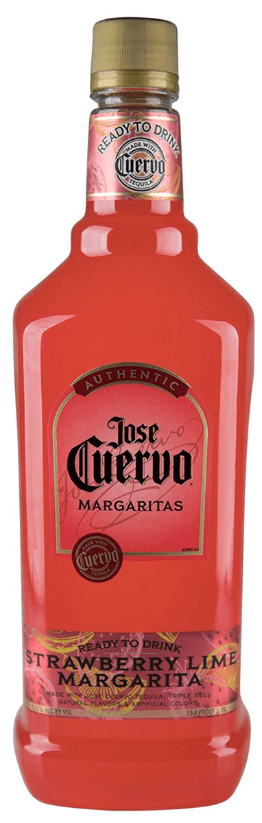 Jose Cuervo Authentic Strawberry Lime Margarita 1 75l Bremers Wine And Liquor