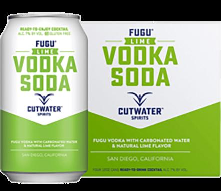 Cutwater Spirits Fugu Lime and Vodka Soda