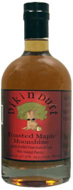DikinDurt Distillery Toasted Maple Moonshine