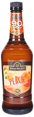 Hiram Walker Peach Schnapps