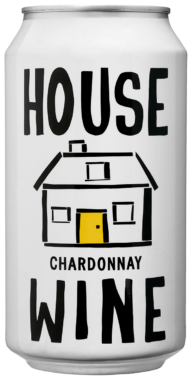 House Wine Chardonnay Cans