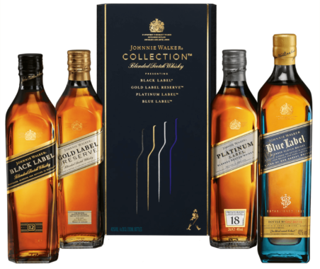 Johnnie Walker Collection 4 pack (200ml)