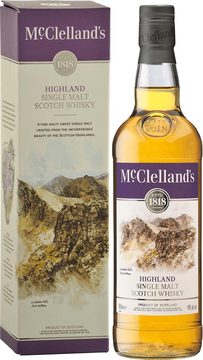 McClellands Highland Single Malt Scotch Whisky - 750ML