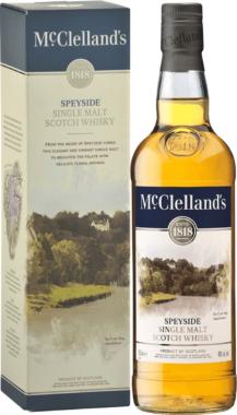 McClelland's Speyside Single Malt Scotch Whisky