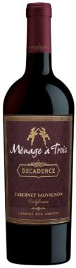 """Ménage à Trois """"Decadence"""" Cabernet Sauvignon 2015"""