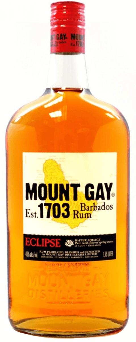 Mount gay eclipse rum stock photo