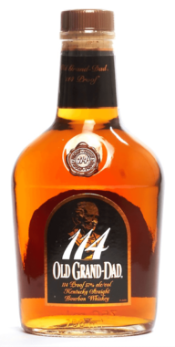 Old Grand Dad 114 Proof Kentucky Straight Bourbon Whiskey
