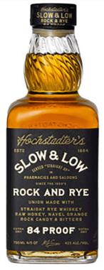 Hochstadter's Slow & Low - Rock & Rye