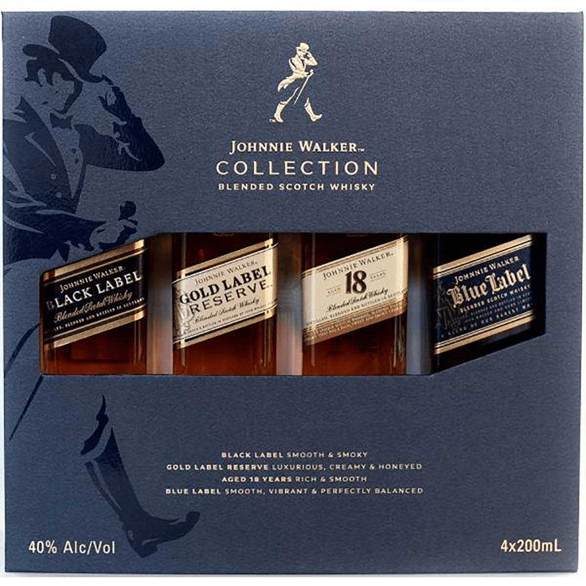 Johnnie Walker Collection 4 pack (200ml