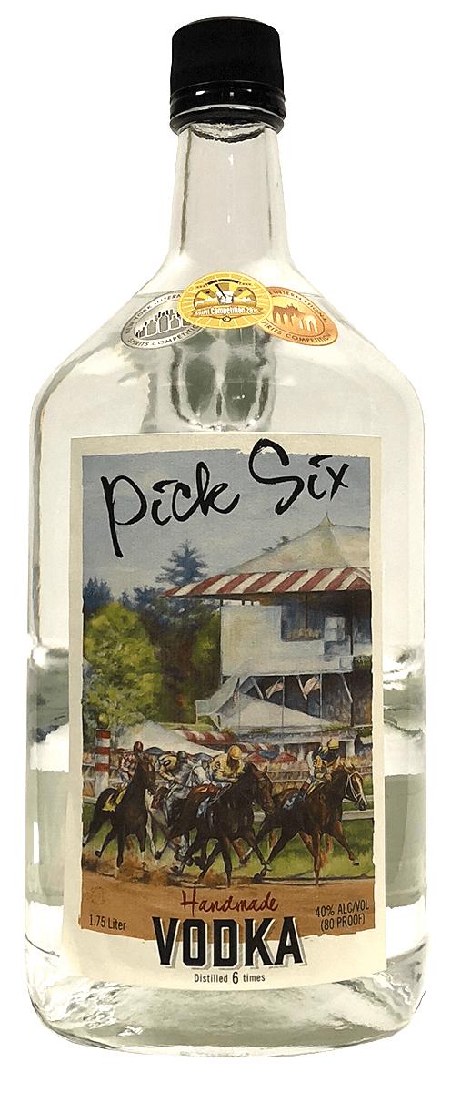 Saratoga Courage Distillery Pick Six Vodka - 1 75L
