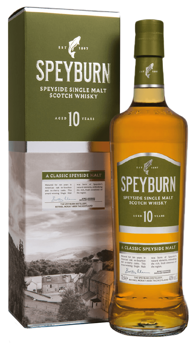 Speyburn 10 Year Single Malt Scotch Whisky 750ml Bremers Wine And Liquor