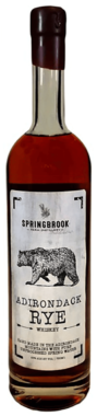 Springbrook Hollow Distillery Adirondack Rye Whiskey