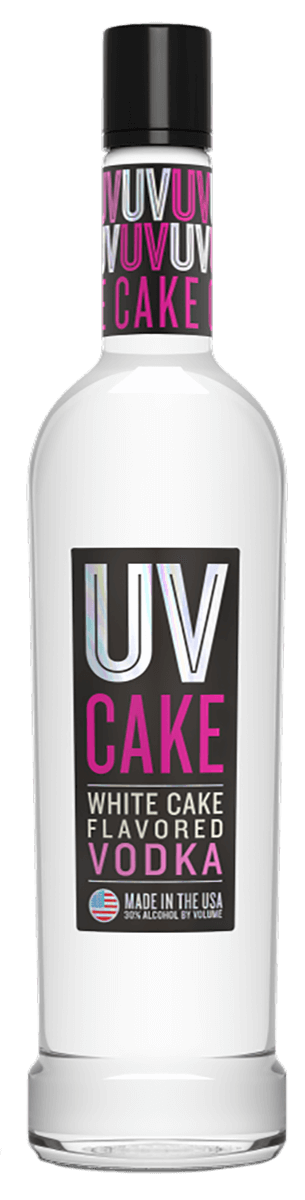 Stupendous Uv Cake Vodka 1 L Bremers Wine And Liquor Personalised Birthday Cards Veneteletsinfo
