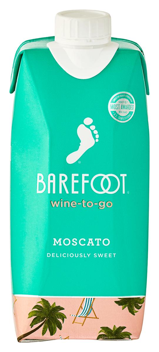 Barefoot Moscato Tetra - 500ML