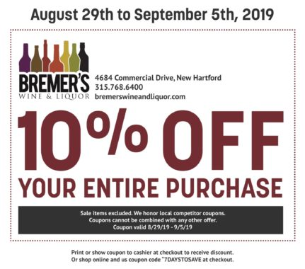 picture about Wine Coupons Printable identified as Bremers Discounts - Bremers Wine and Alcoholic beverages